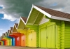 Commended Digital - Beach Huts - Stephen Dickinson