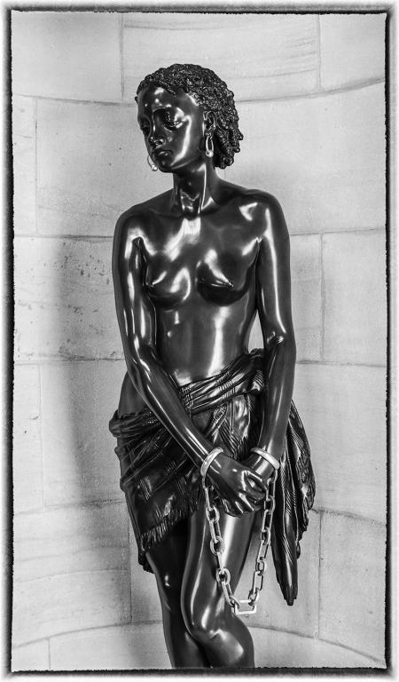 Steve Womack - Statue of Slave Girl