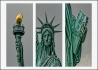 Michelle Howell - Tryptich of Statue of Liberty