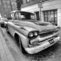 The Old Chevy_by_Clarke, Neil