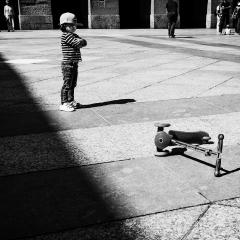 Street Mono by Nigel Hazell
