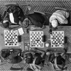 Commended Digital - Street Chess in Central Park by Peter Wells