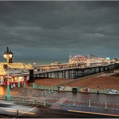 2nd Digital - Lighting up time on the pier by Neil Carter