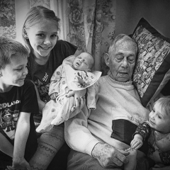 1st - Eric-And-His-Great-grandchildren_by_Sallett-Sally