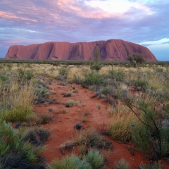Uluru by Chris New