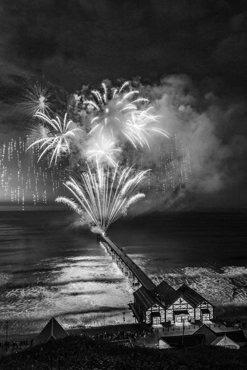 Fireworks-Over-The-Pier_by_Steve-Womack