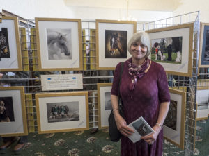 Christine Walker with some of her award winning prints